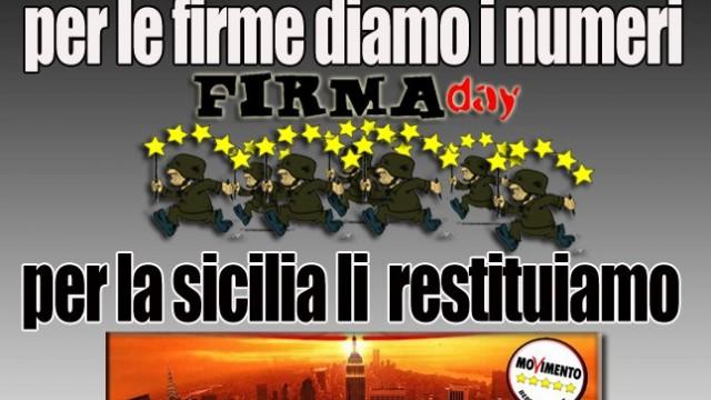 Firma day, Restitution day, incursioni dal Viminale. 09/01/2013