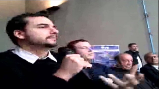 Carlo Sibilia interviene a Morcone. 12/10/2013