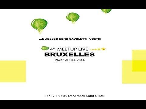 Meetup Europe da Bruxelles: pomeriggio