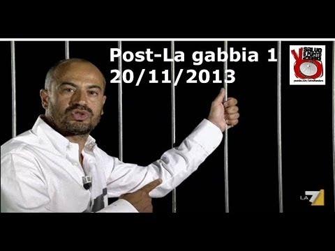 Miscappaladiretta by night. Post La Gabbia! 20/11/2013 1/2