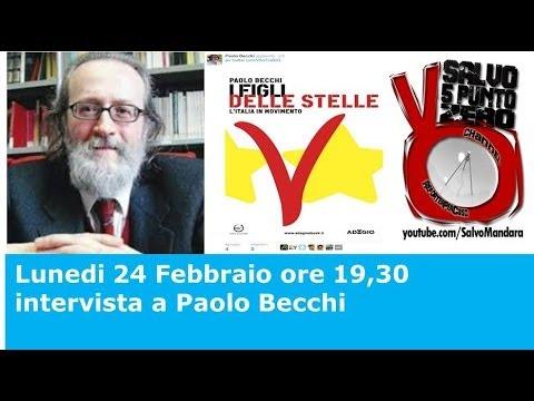 Salvo5.0. I figli delle stelle: intervista con Paolo Becchi. 24/02/2014.