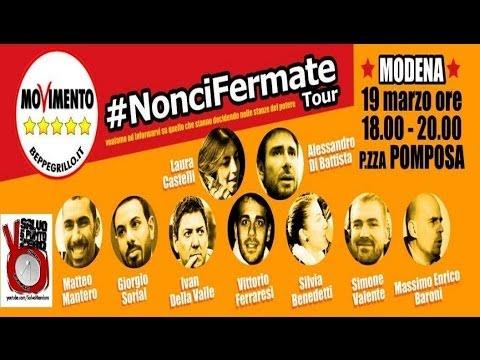 Salvo5.0. NonciFermate Tour diretta da Modena