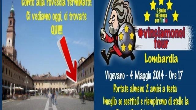 #VinciamonoiTour Vigevano