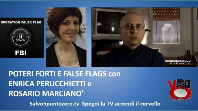 """Poteri forti e """"false flags"""" con Enrica Perucchietti e Rosario Marcianò. 30/07/2014"""