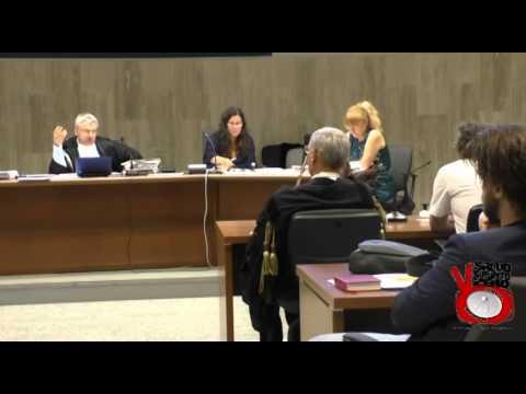 Prima udienza processo Maiorano vs Renzi difeso da Taormina.