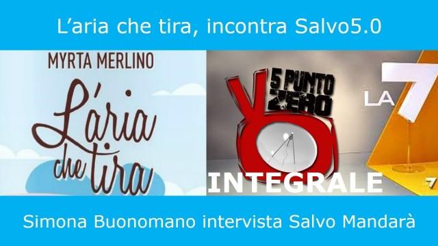 """Intervista INTEGRALE con Simona Buonomano per """"l'aria che tira"""" La7. Aprile 2014"""