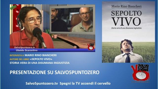 Presentazione intervista a Mario Biancheri con Enrico Schirru e Ubaldo Scarantino. 20/08/2014
