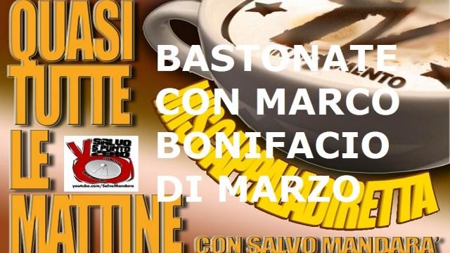 Miscappaladiretta 05/09/2014. Bastonate con Marco Bonifacio Di Marzo