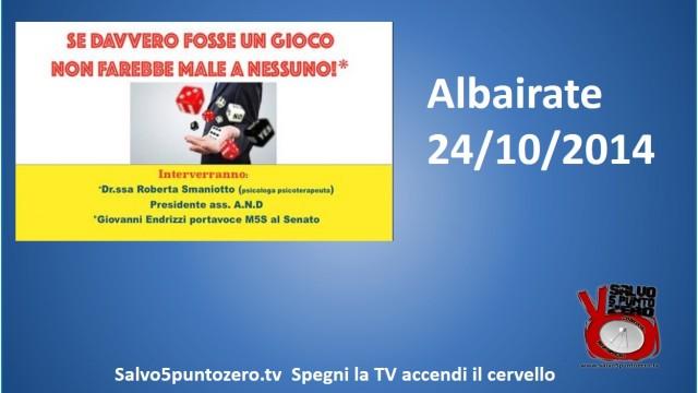 Albairate Convegno sul gioco d'azzardo. 24/10/2014