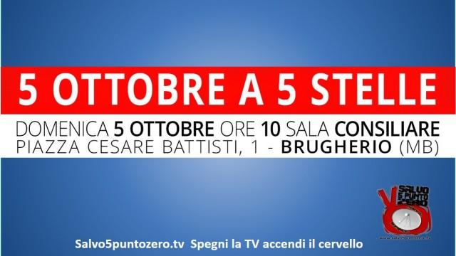 Brugherio, 5 Ottobre a 5 Stelle. 05/10/2014. Pomeriggio. Intervento Andrea Monachino