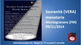 Montegranaro 09/11/2014. Convegno su sovranità monetaria (VERA)