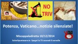 Miscappaladiretta 10/12/2014. Potenza, Vaticano…notizie silenziate!