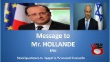 Message to Mr. Hollande ENG