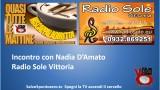 Salvo5puntozero incontra Nadia D'Amato a Radio Sole Vittoria. 05/01/2015