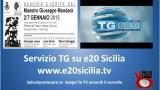 """Servizio TG e20 Sicilia sulla mostra """"Memorie e Verità"""" di Giuseppe Mandarà. 06/01/2015"""