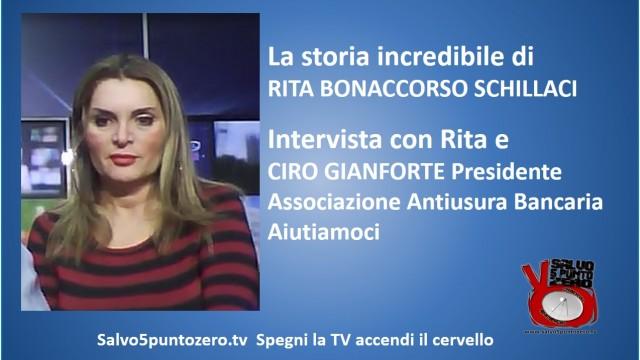 L'incredibile storia di Rita Bonaccorso Schillaci: gli sciacalli delle case all'asta! 14/01/2015
