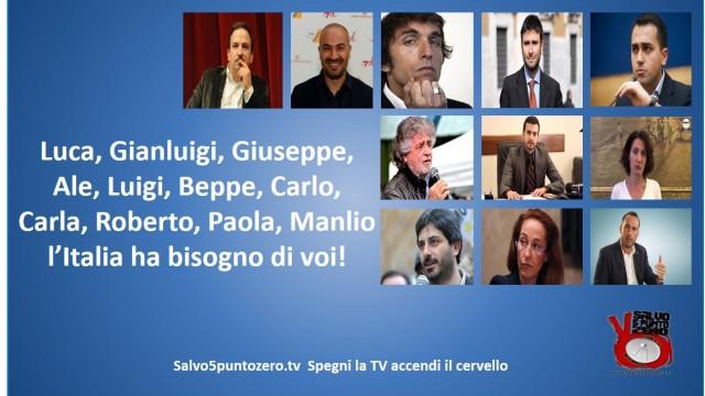 APPELLO: Luca, Gianluigi, Giuseppe, Ale, Luigi, Beppe, Carlo, Carla, Roberto, Paola, Manlio: abbiamo bisogno di voi!