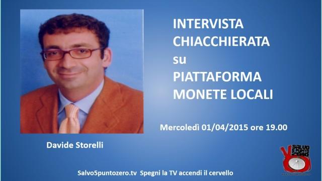 Intervista chiacchierata con Davide Storelli sulla nuova piattaforma pecuswap.com. 01/04/2015