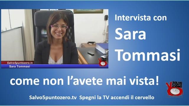 ESCLUSIVO! Intervista con Sara Tommasi. Come non l'avete mai vista! 02/07/2015