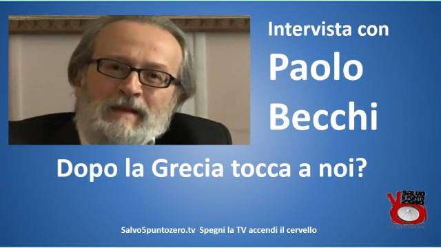 Intervista con Paolo Becchi. Dopo la Grecia tocca  a noi? 02/07/2015