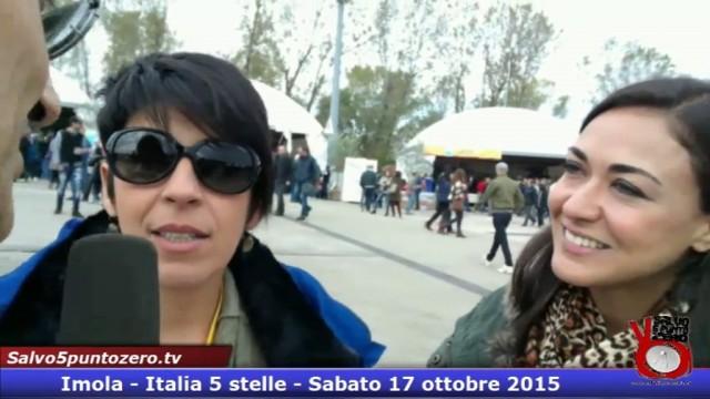 Angela Foti e Valentina Zafarana aggiornamenti sul MUOS e sul dissesto idrogelogico. #imola #italia5stelle. 17/10/2015