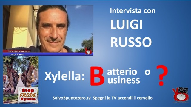 Xylella Batterio o Business? Intervista con Luigi Russo. 12/10/2015