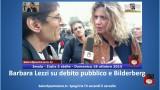 Intervista con Barbara Lezzi su debito pubblico e #Bilderberg. #imola #italia5stelle.18/10/2015