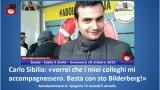 Carlo Sibilia: 'vorrei che i miei colleghi mi accompagnassero. Basta con sto Bilderberg!'. #imola #italia5stelle. 18/10/2015.