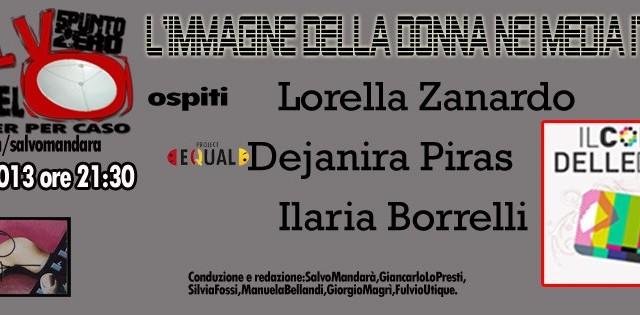 L'immagine della donna nei media italiani. 03/04/2013