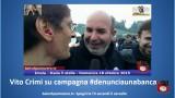 Anche Vito Crimi è stato attivato su campagna #denunciaunabanca. #imola #italia5stelle. 18/10/2015.