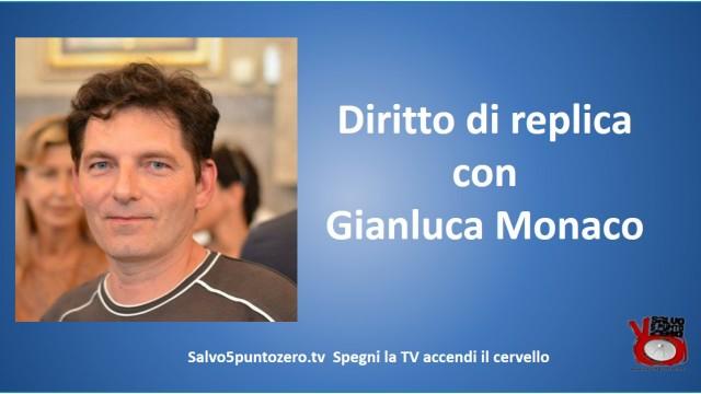Diritto di replica e confronto(rimandato) con Marco Saba. Con Gianluca Monaco. 18/01/2016