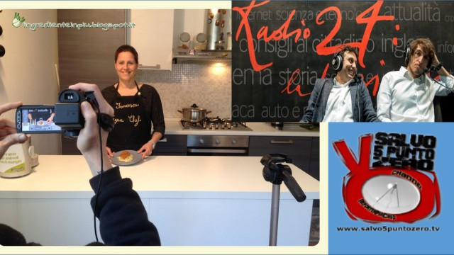 Cruciani 'La zanzara' cita la nostra nuova rubrica di cucina umana con Francesca Geloni.