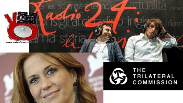 Salvo alla Zanzara di Cruciani! Trilateral, Maggioni, Pecoglioni Italia Tour. 15/04/2016