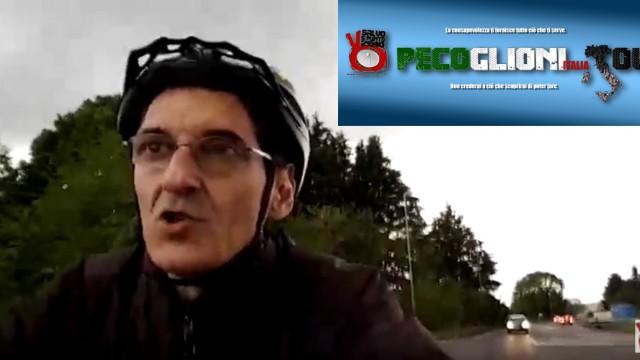 Primo test bici elettrica Pecoglioni Italia Tour. Abbiategrasso Vigevano e ritorno! Tutto ok! 26/04/2016