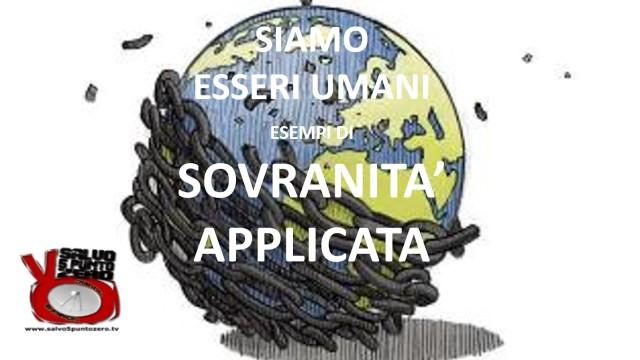 Siamo esseri umani. Esempi di sovranità applicata. Con andrea nato castellani e Mahat. 16/12/2016