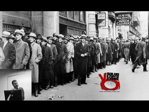 La grande depressione e la Federal Reserve. Cos'è il denaro di Daniele Pace. 53a Puntata. 02/01/2017