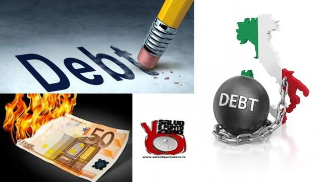 La truffa del debito pubblico! Miscappaladiretta 13/02/2017.