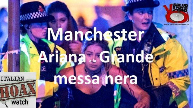 Manchester: Ariana e la Grande messa nera. Con Angelo Terra. 28/05/2017
