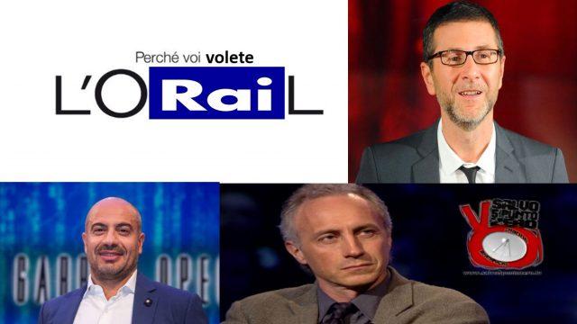 11 milioni a Fazio: L'O-RAI-L, perchè voi volete! Miscappaladiretta 01/07/2017.